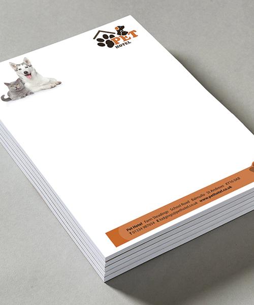 paper pads desk pads printed