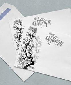 envelope printing c4 self sealing