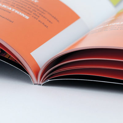 printed brochures saddle stitch perfect bound
