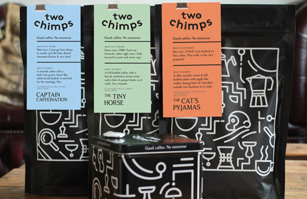 printed packaging coffee vinyl sign graphics