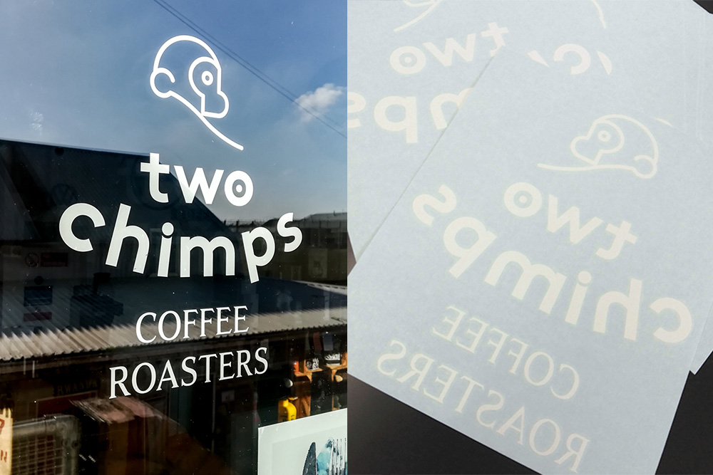 window stickers vinyl cut lettering graphics