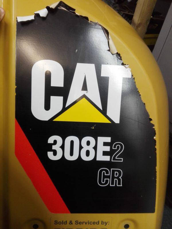 sticker signage